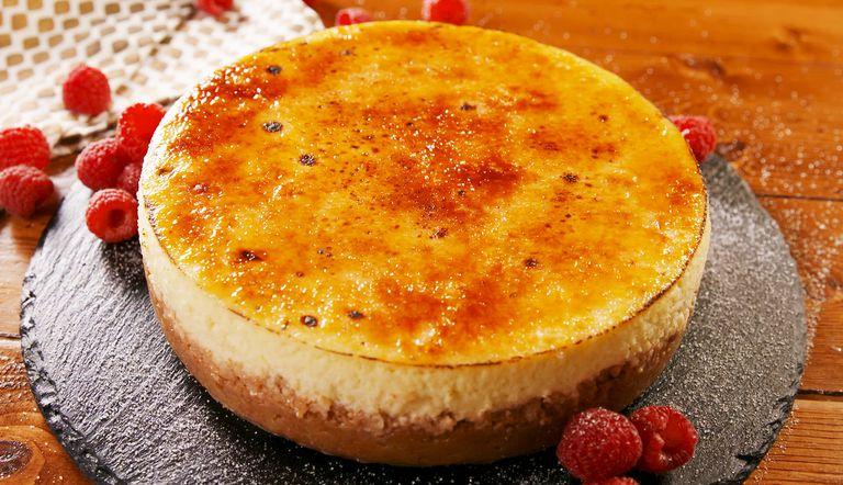 Cheesecake cu creme brulee
