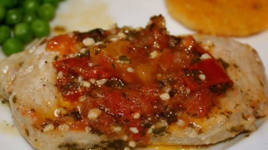 Cotlet de porc italienesc