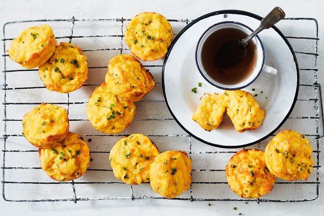 Muffins cu dovleac și cheddar