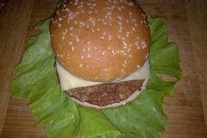 Burger din carne de vita