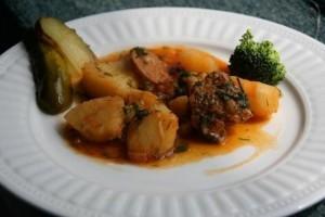 Cartofi cu soia