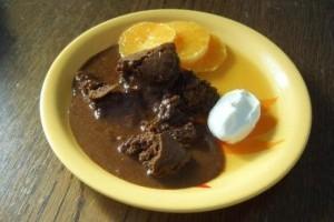 Clafoutis cu ciocolata si portocale (Jamie Oliver)
