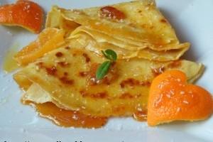 Clatite caramelizate cu portocale