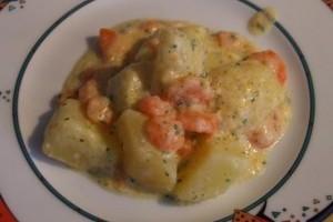 Karottengemüse, mancarica de morcovi si cartofi
