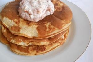 Pancakes cu malai