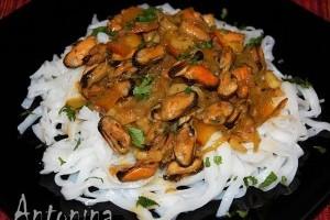 Scoici Cu Rice Noodles