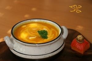 Supa-crema cu dovleac