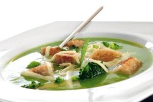Supa crema de broccoli cu cascaval Delaco Sofia