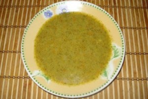 Supa crema de broccoli de post