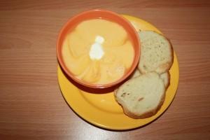 Supa Crema de Dovlecei cu Morcov