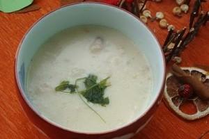Supa crema de pui