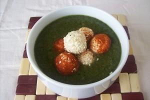 Supa crema de spanac cu branza