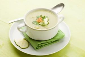 Supa crema delicioasa de dovlecei