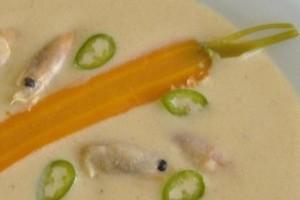 Supa- crema picanta de creveti