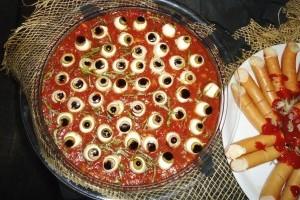 Supa de sange cu ochi pentru Halloween
