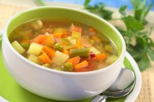 Supa din legume