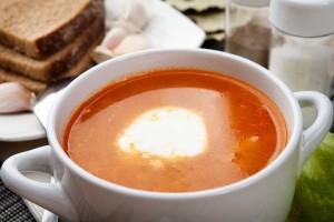 Supa poloneza cu rosii