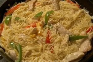 Tuscan garlic chicken