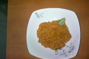 Zacusca de vinete cu morcovi
