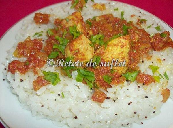 Curry de pui ca la mama lui acasa