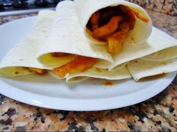 Fajitas mexicane