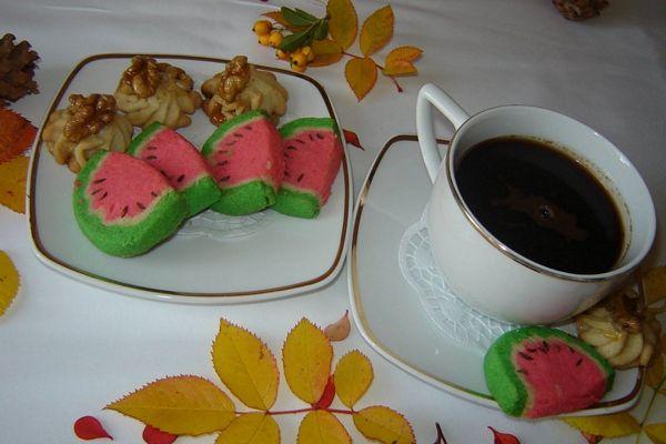 Felii de pepene fursecuri