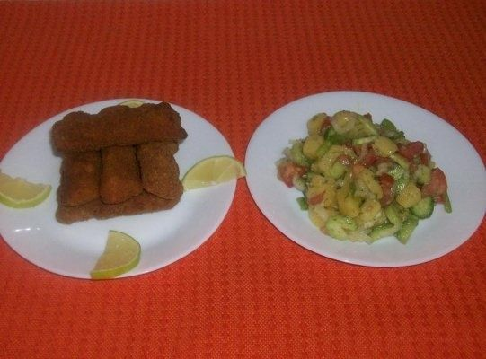 Fish finger (file de peste pane)