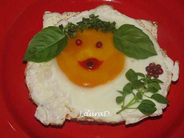 Happy-face Sandwich
