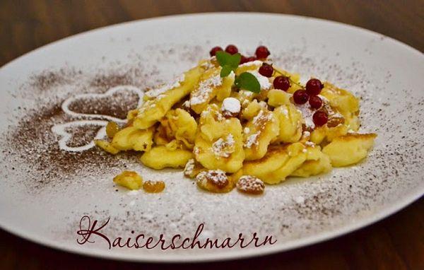 Kaiserschmarrn - clatite pufoase austriece