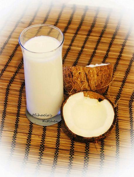 Lapte din nuca de cocos