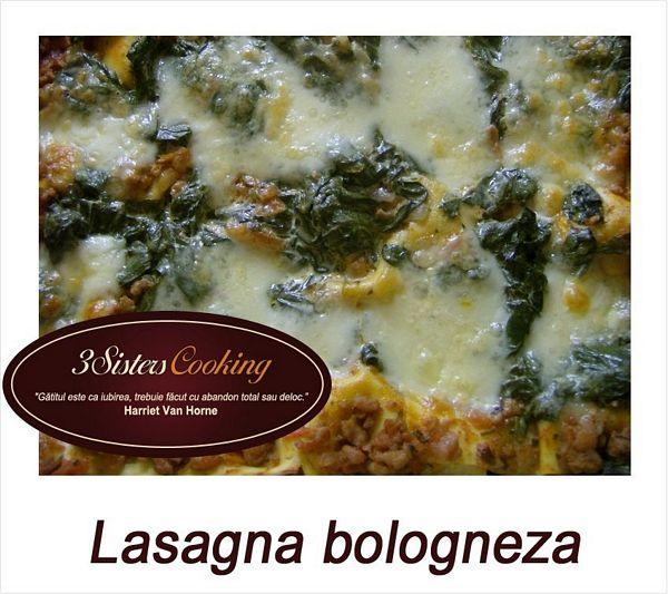 Lasagna bologneza