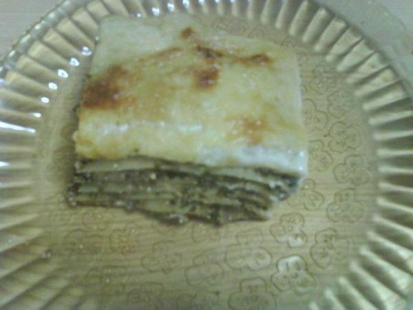 Lasagna cu spanac si urda dulce