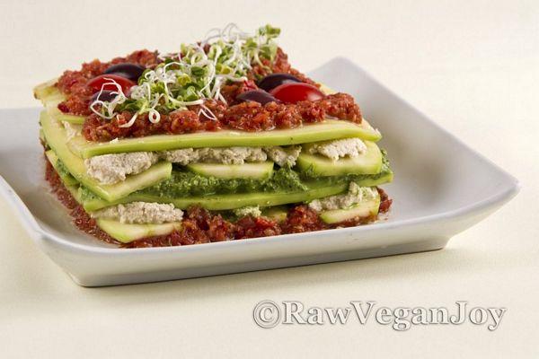Lasagna (raw Vegan)