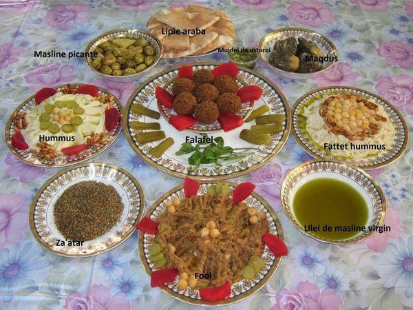 """Micul dejun arab- 3.""""Falafel""""- chiftelute de naut si bob(fava beans)-de post"""