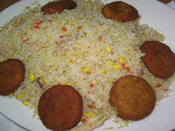 Orez cu pui(Chicken masala rice)