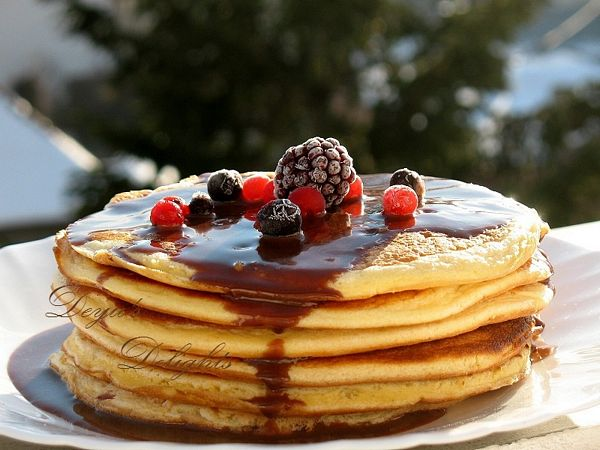 Pancakes by Jamie Oliver