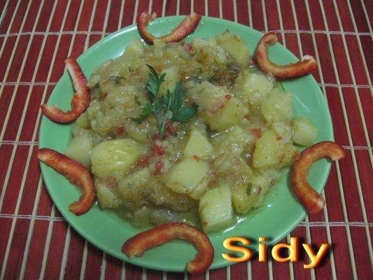 Papricas de cartofi cu dovlecel