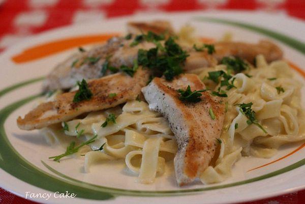 Paste Chicken Alfredo
