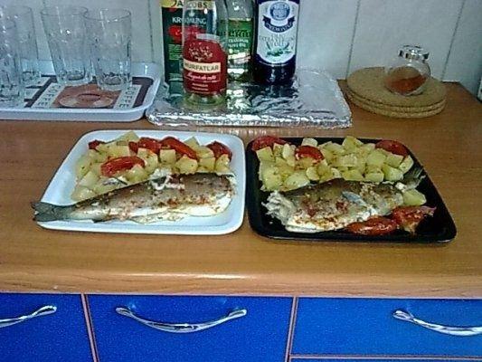 Pastrav la cuptor cu cartofi ca la Alba-Iulia.