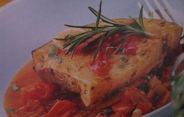 Peste in stil mediteraneean
