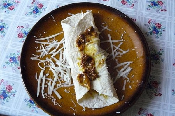 Piept de pui marinat de 1 Mai(Enchiladas adaptat )