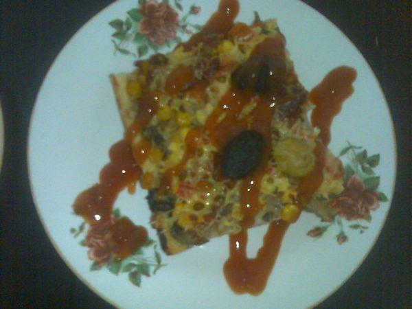 Pizza De Post Cu Ciuperci