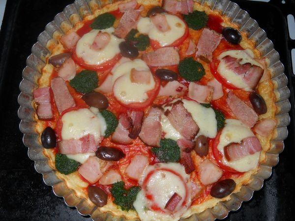 Pizza rapida fara aluat dospit