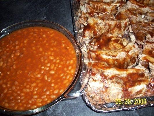 Pork baby-back ribs - Costite de porc