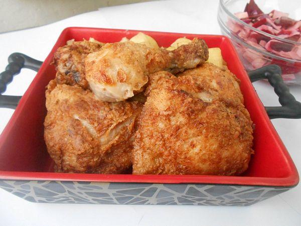 Pui prajit by Jamie Oliver