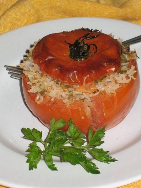 Rosii umplute cu orez