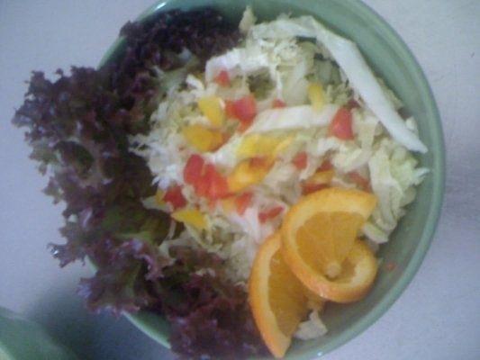 Salata Chinezeasca Cu Suc De Mandarine