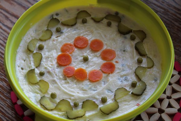 Salata de boeuf-fara carne