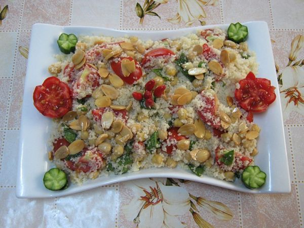 Salata De Cuscus-specifica Tarilor Arabe