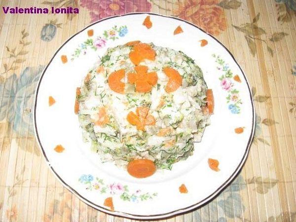 Salata De Legume Fierte Cu Maioneza De Post